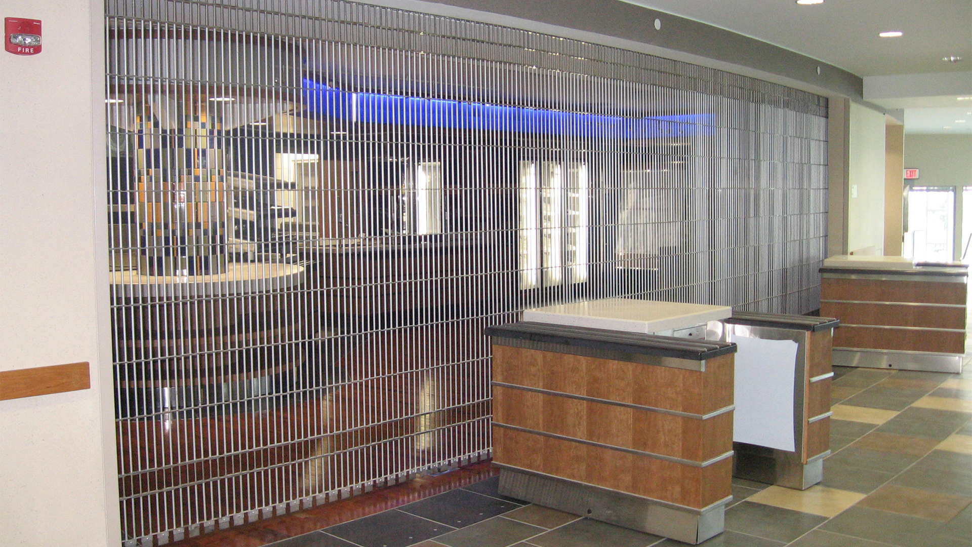 McKeon's SC3000 Side Coiling Security Grille