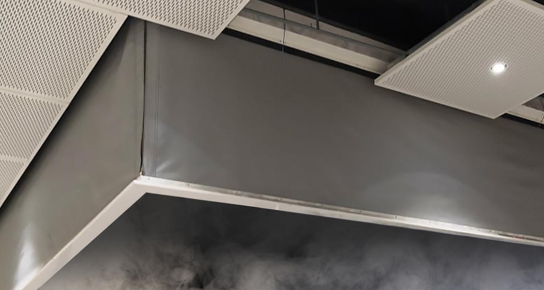 McKeon's SmokeFighter® Model D500S Smoke Curtain