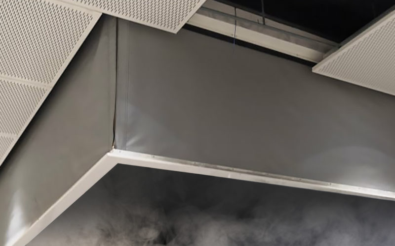 Mceon's SmokeFighter® Model D500S Smoke Curtain
