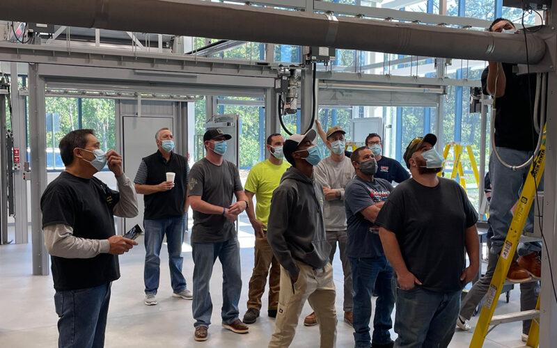 McKeon Installation Training at the Bellport Training Facility