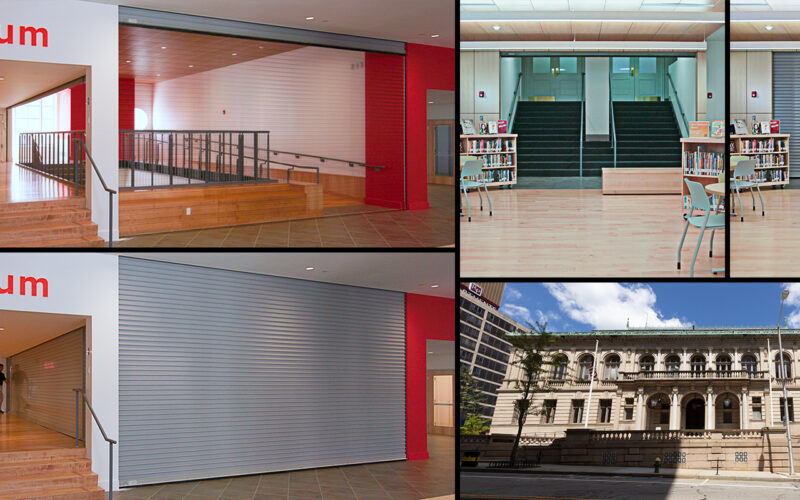 Providence Public Library Renovation Collage